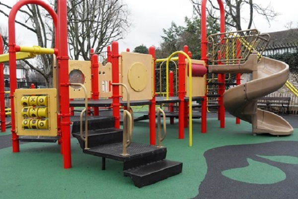 Playgrounds across the country were forced to close during the height of the pandemic
